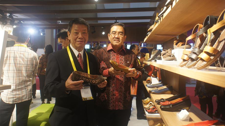 Pameran Indo Leather & Footwear (ILF) tahun 2017